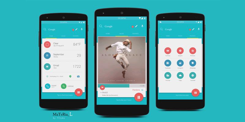 معرفی ۱۸ اپلیکیشن با طراحی متریال توسط گوگل