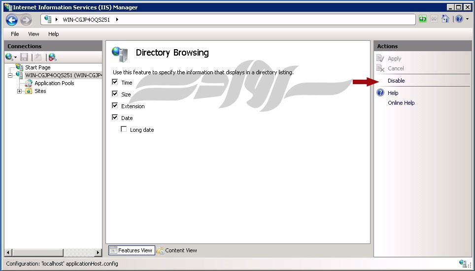 آموزش تصویری راه اندازی و نصب IIS در Windows Server 2008 R2